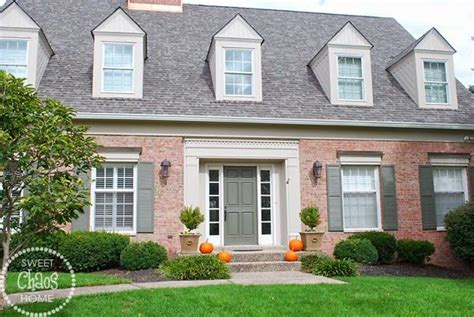 sweet chaos home choosing exterior paint colors help wanted homes orange brick houses