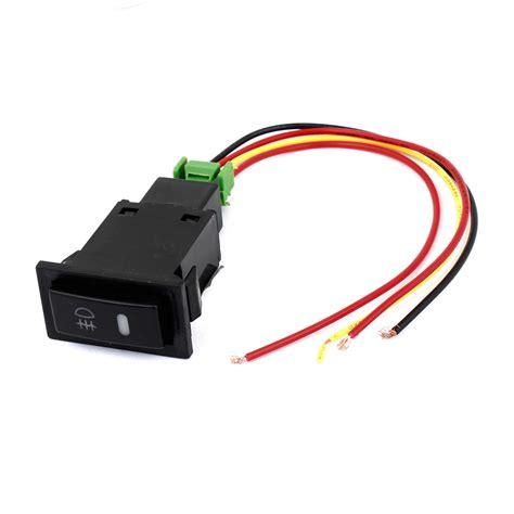 Toyota Fog Light Switch Dc12v Panel Mount Black Pilot L 4 Wire Fog Light Switch