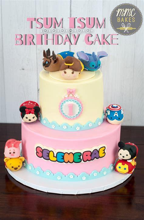 Tsum Tsum Birthday Cakes 6 Tsum Tsum Birthday Cake Mmc Bakes