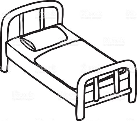 black and white futon bed clipart black and white dothuytinh