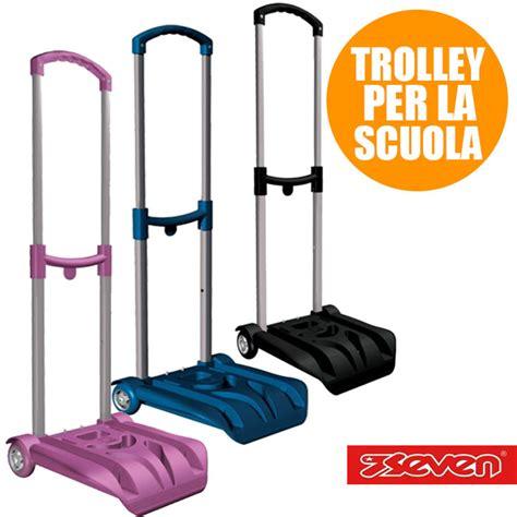 trolley easy seven porta zaino carico max 26 kg doppia