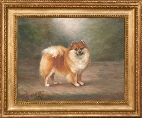 standing pomeranian henry crowther standing pomeranian at 1stdibs