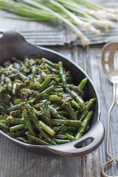 Springtime Side Sauteed Asparagus by Side Dish Slim Palate