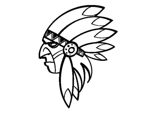 indian face coloring page face of indian head coloring page coloringcrew com