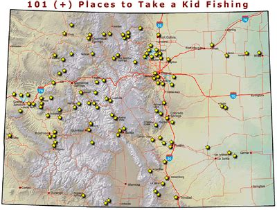 fly fishing colorado map my colorado parks wildlife fishing