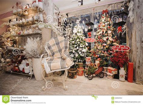 interior christmas decorations macollinsdesign com winter home decor christmas rustic interior stock photo