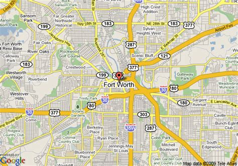 where is fort worth texas on a map map of courtyard by marriott blackstone ft worth downtown fort worth