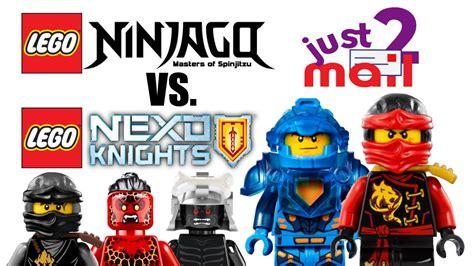 Lego Ninjago Vs lego ninjago vs nexo knights which is better