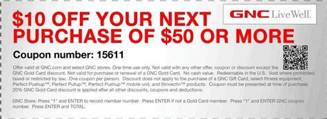 Gnc Coupons In Store Printable gnc printable coupons freepsychiclovereadings