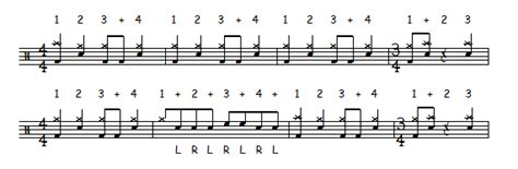 drum rhythms online free quot master of puppets quot verse drum beat metallica lars