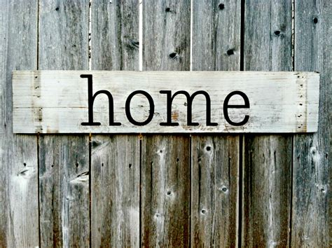 wooden home signs decor handmade wall decor home rustic wooden sign by rusticdesigns1