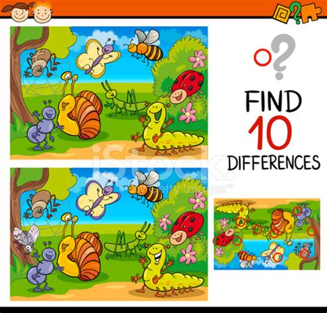 finding differences game cartoon stock vector freeimages.com