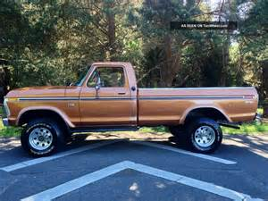 Ford Highboy 4x4 1976 Ford F250 Xlt Ranger Longbed Highboy 4x4 1977 1978