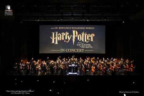 di harry potter e la dei segreti harry potter e la dei segreti in cine concerto