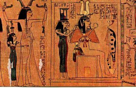 el papiro egipcio el primer libro de la historia el libro egipcio de los muertos arquehistoria