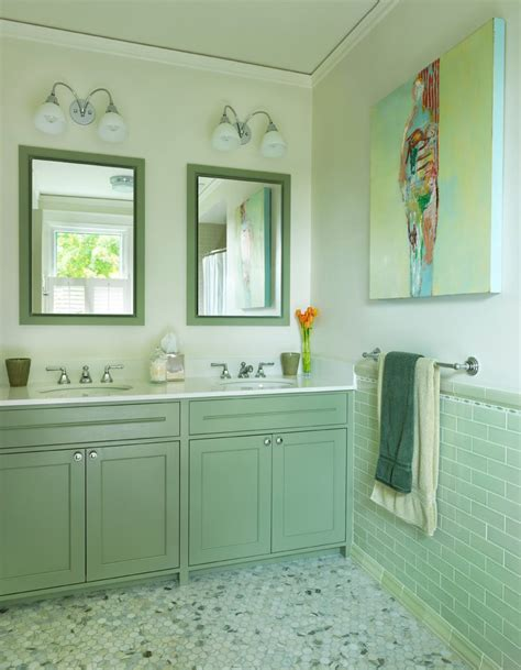 ming green marble bathroom traditional with hex tile floor contemporary sink faucets