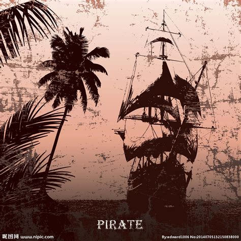 海盗船设计图 其他图标 标志图标 设计图库 昵图网nipic com