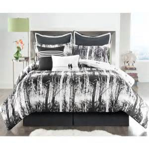 black and white tree bedding details about modern nautical stripe blue white beige comforter set pillow full queen twin