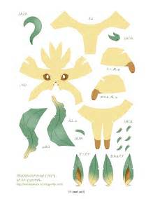 3d Paper Crafts For - eeveelutions papercraft papercraft pok 233 mon and origami