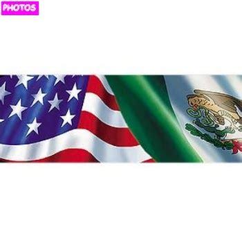 mexican american flag   mexican flag
