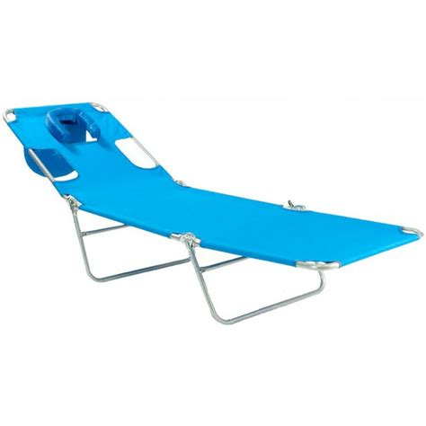 folding beach chaise lounge chairs ostrich mp102 folding beach chaise lounge ocean blue