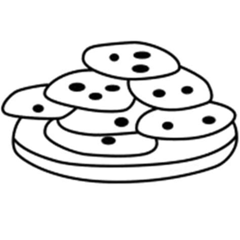 coloring pages of cupcakes and cookies baked cookie sheet clipart clipart suggest