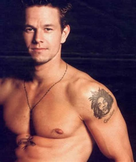 mark wahlberg tattoo home seleb wahlberg photos and profile