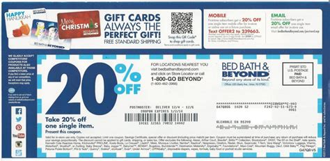 bed bath and beyond coupons find bed bath and beyond canada coupon in 2017
