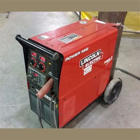 used lincoln welder for sale used power mig 350mp for sale lincoln electric welder