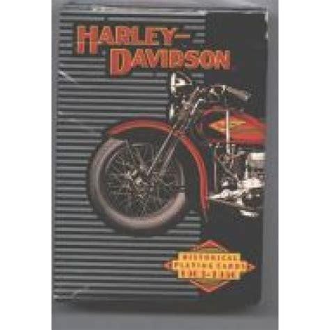 Harley Gift Card - harley davidson historical playing cards