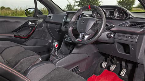 peugeot 208 gti inside 2017 peugeot 208 gti car review top gear