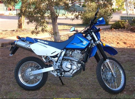2007 Suzuki Dr650 Dirtbike Rider Picture Website