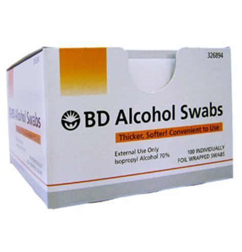 Alkohol Swab Bd Swab Berkualitas swab 100s nhg pharmacy