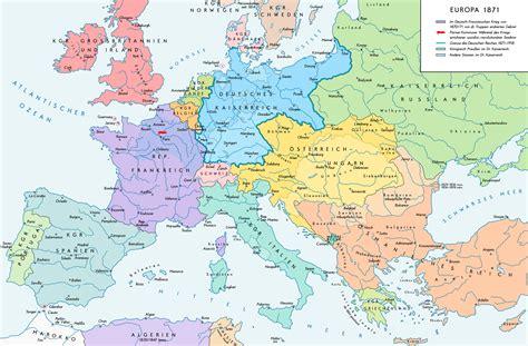 map de l europe datei europe 1871 map de png