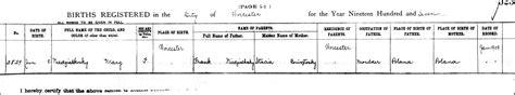 Worcester County Birth Records The Birth Of M Niedzialkoski 1907 Steve S Genealogy