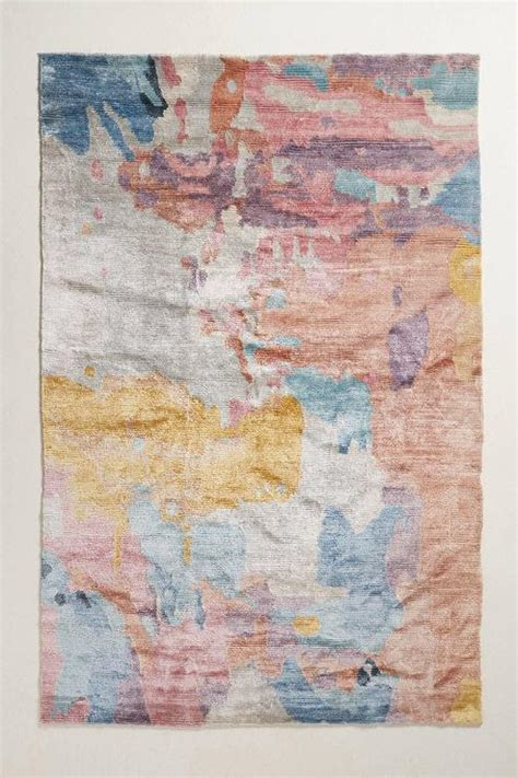 lovely Blue And Gray Area Rug #2: elimina-abstract-multi-colored-pastel-hand-spun-silk-rug.jpeg