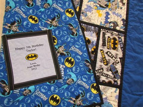 Batman Quilt Pattern by You To See Batman Quilt On Craftsy