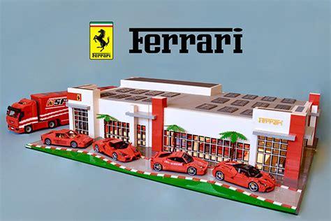 ferrari dealership 36 000 piece ferrari dealership