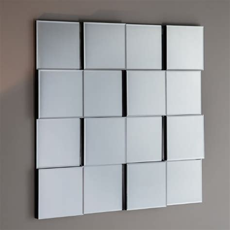 silver squares framed mirror 32x66 in living room motion wall mirror square in silver 33979 furniture in