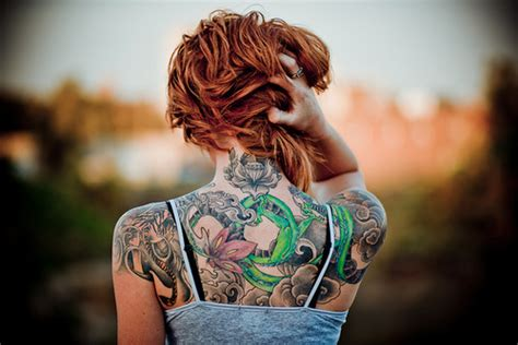 tattooed girl we heart it wehearttattoo we have tatto in our hearts page 2
