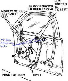 Electric Car Window Parts All Info About Auto Repair 1993 Mercury Grand Marquis