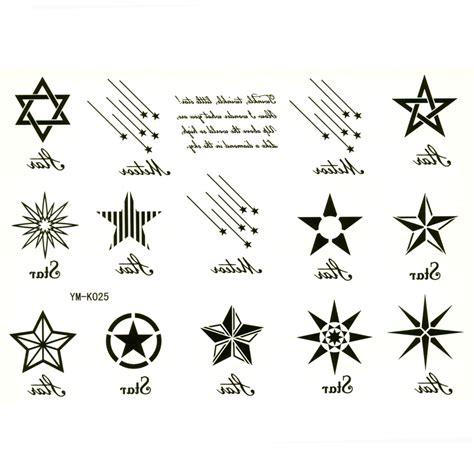 five point star tattoo six point pictures to pin on