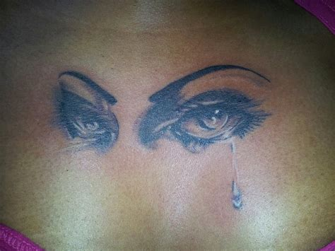 tattoo eye crying 38 best dark ink african american tattoos images on