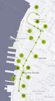 New York High Line Map by Whitney To High Line To Chelsea Market A Newer New York