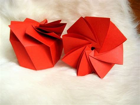 Origami Spiral Box - spiral gift box how did you make this luxe diy