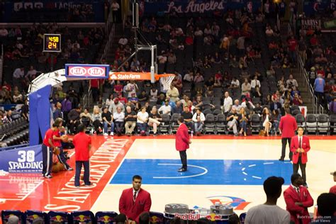 staples center section 206 view verizon center dc section loge 206 view for basketball