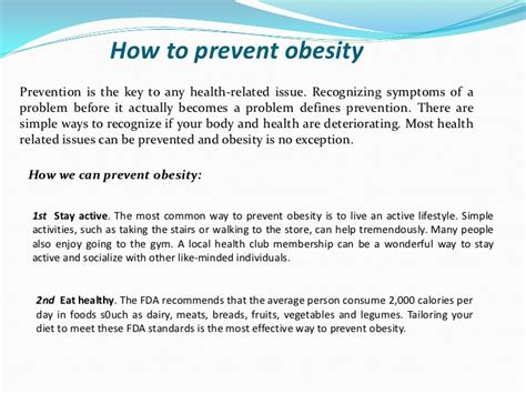 10 Ways To Prevent Obesity by Fast Food And Obesity