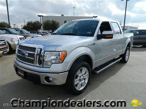 2012 ingot silver metallic ford f150 lariat supercrew 4x4 59859282 gtcarlot car color