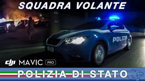 squadra volanti squadra volante roma sulla volante della polizia di stato