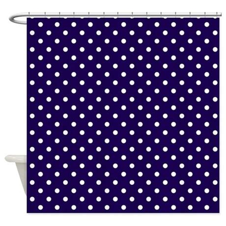 white and navy shower curtain navy blue with white dots shower curtain by